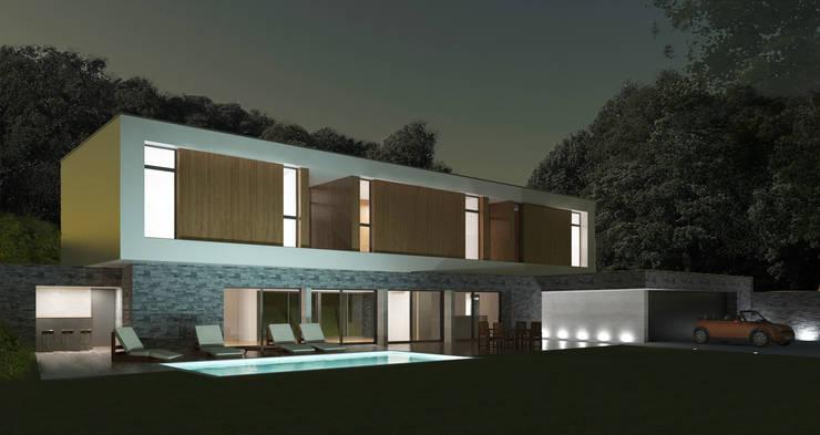 Vue de nuit:  de style  par 3B Architecture