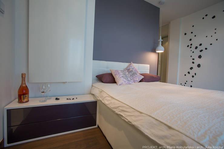 Realizacja: styl , w kategorii Sypialnia zaprojektowany przez LEMUR Architekci