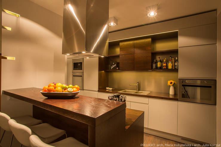Realizacja: styl , w kategorii Kuchnia zaprojektowany przez LEMUR Architekci