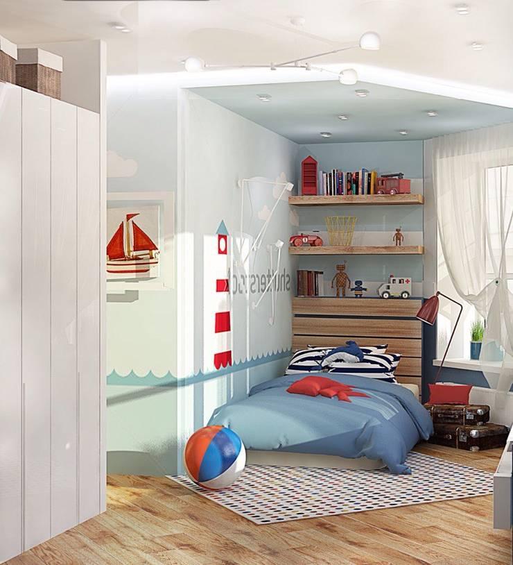 Детская комната для мальчика: Детские комнаты в . Автор – Мозжерина Марина , Эклектичный