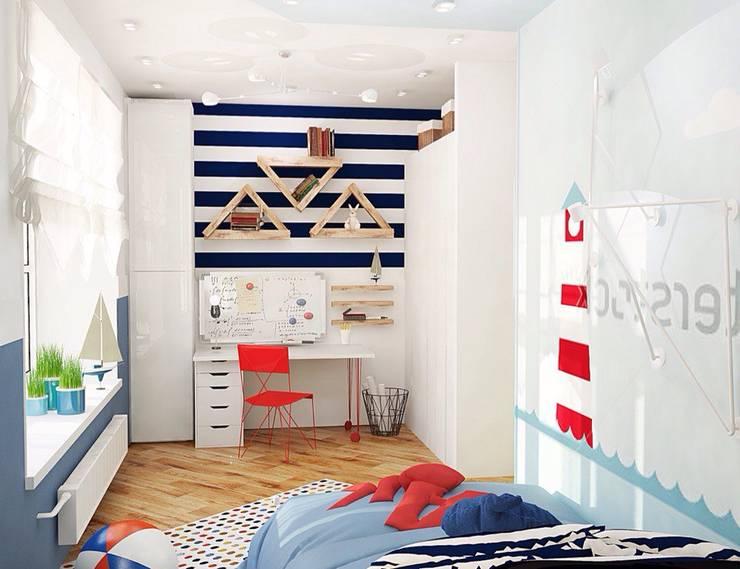Projekty,  Pokój dziecięcy zaprojektowane przez Мозжерина Марина