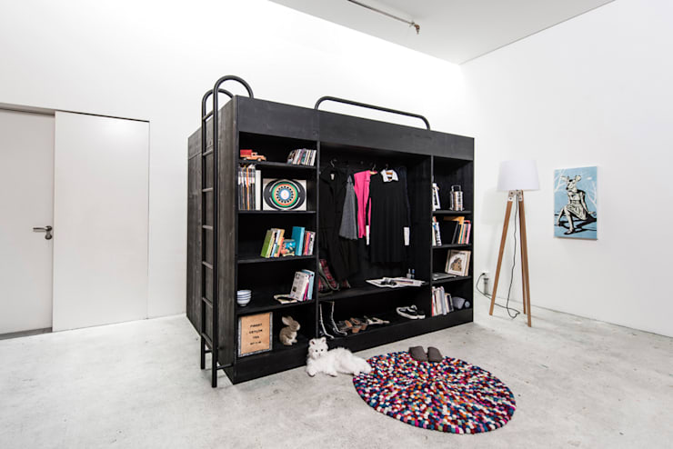 minimalistic Dressing room by Living Cube Furniture