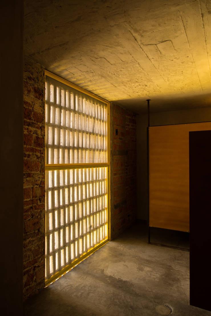 WC Gastronomía de estilo industrial de Mexicana de Arquitectura Industrial