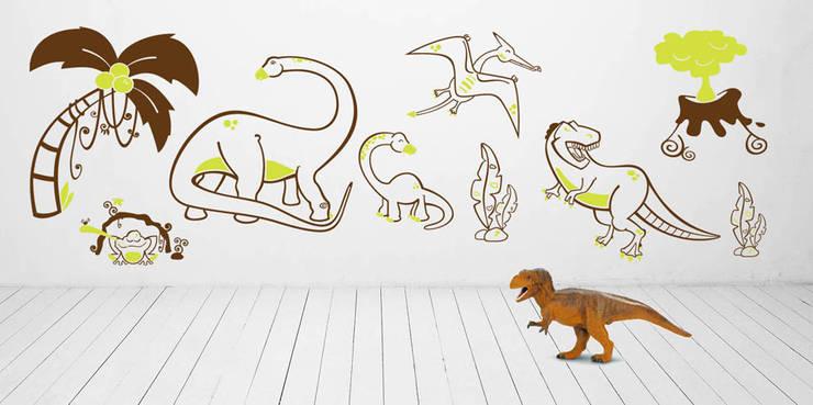 DINOZAURY, JURASSIC PARK, TYRANOZAURUS: styl , w kategorii  zaprojektowany przez Pracownia Golden Sheep,Nowoczesny