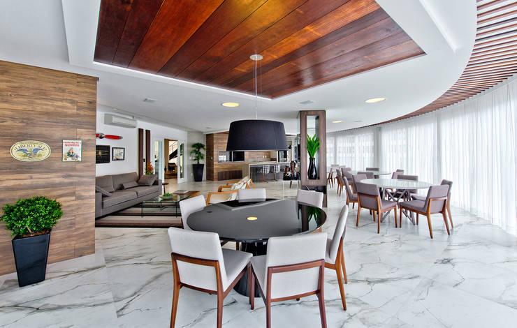 غرفة السفرة تنفيذ Espaço do Traço arquitetura