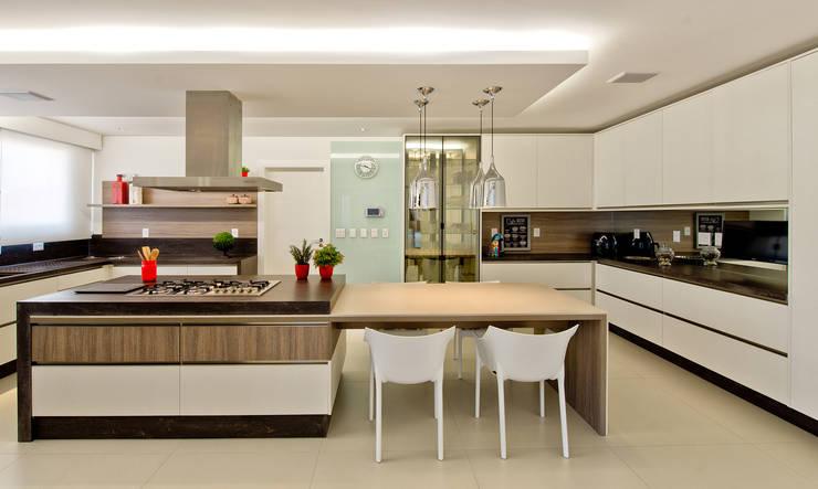 مطبخ تنفيذ Espaço do Traço arquitetura