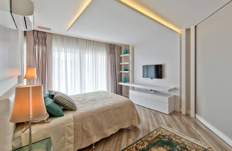 غرفة نوم تنفيذ Espaço do Traço arquitetura