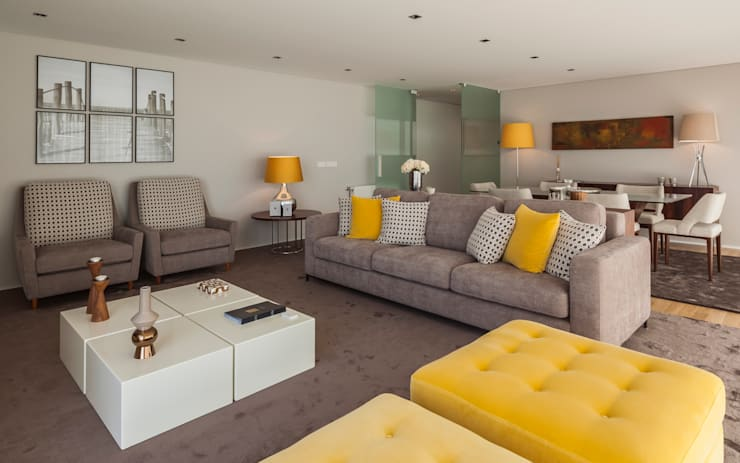 Living room by Filipa Cunha Interiores