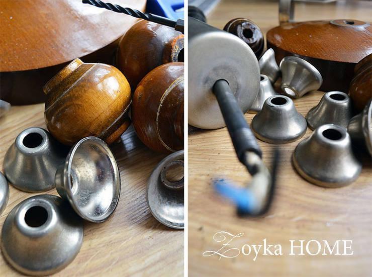 Podstawa lampy - DIY: styl , w kategorii  zaprojektowany przez Zoyka HOME