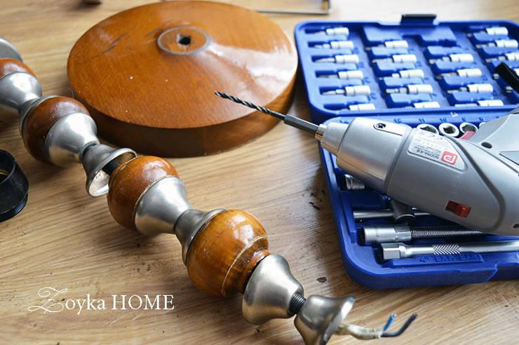 Podstawa lampy – DIY: styl , w kategorii  zaprojektowany przez Zoyka HOME