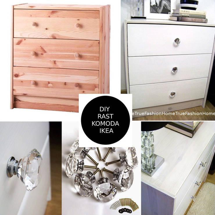 Komoda RAST – DIY: styl , w kategorii  zaprojektowany przez Zoyka HOME,Klasyczny