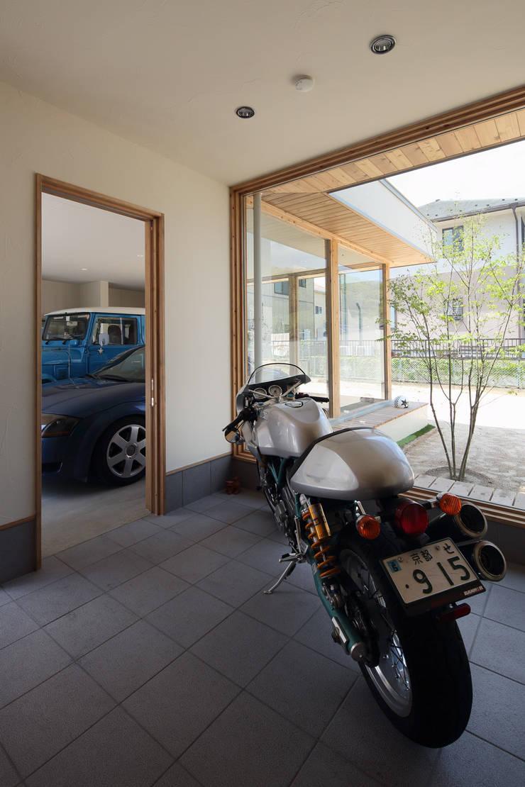 .: (株)ZAG空間設計舎が手掛けたガレージです。