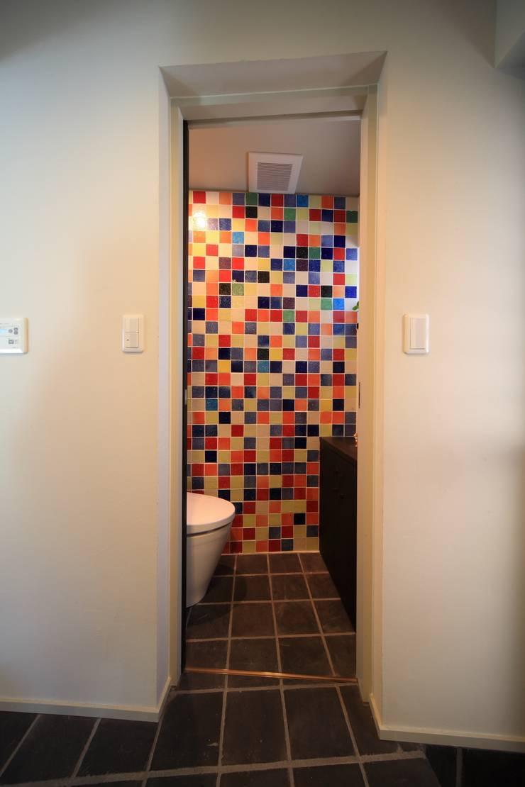 トイレ: MA設計室が手掛けた浴室です。