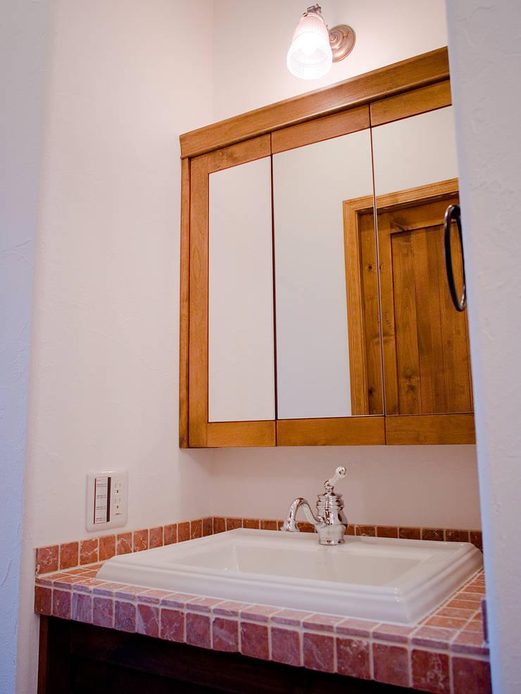 洗面台.*: 株式会社 盛匠が手掛けた洗面所&風呂&トイレです。