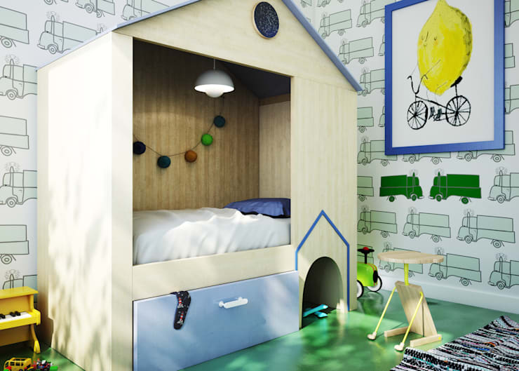 Nursery/kid's room by Humpty Dumpty Room Decoration