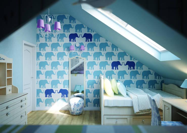 Humpty Dumpty Room Decoration: modern tarz Çocuk Odası