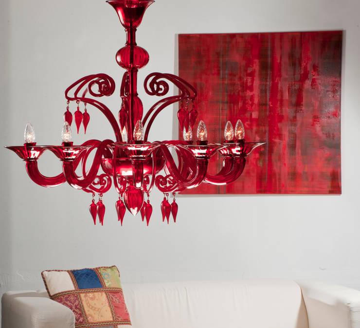 Living room تنفيذ YourMurano Lighting
