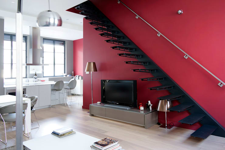 Projekty,  Salon zaprojektowane przez DECO CONCEPT