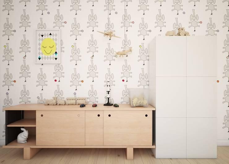 Stanza dei bambini in stile  di Humpty Dumpty Room Decoration