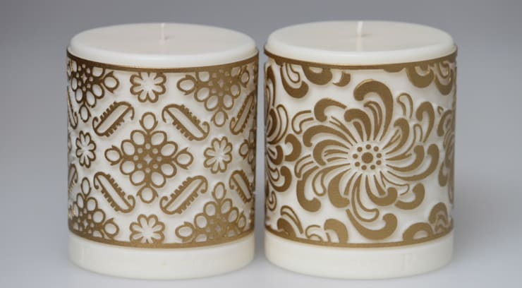 Luxury fragranced rapeseed wax candles.:  Household by Parable Designs Ltd