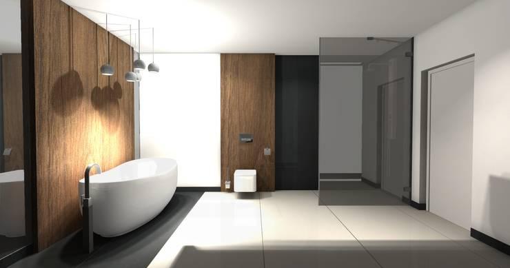 Łazienka : styl , w kategorii  zaprojektowany przez Ars Deko