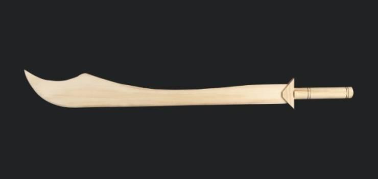 Dilek Hediyelik – ahşap kılıç:  tarz İç Dekorasyon