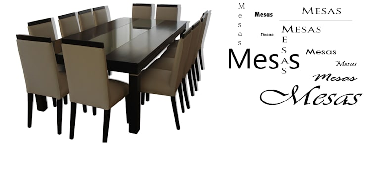 Mesas de Mueble y Confort: Comedores de estilo  por Mueble y Confort