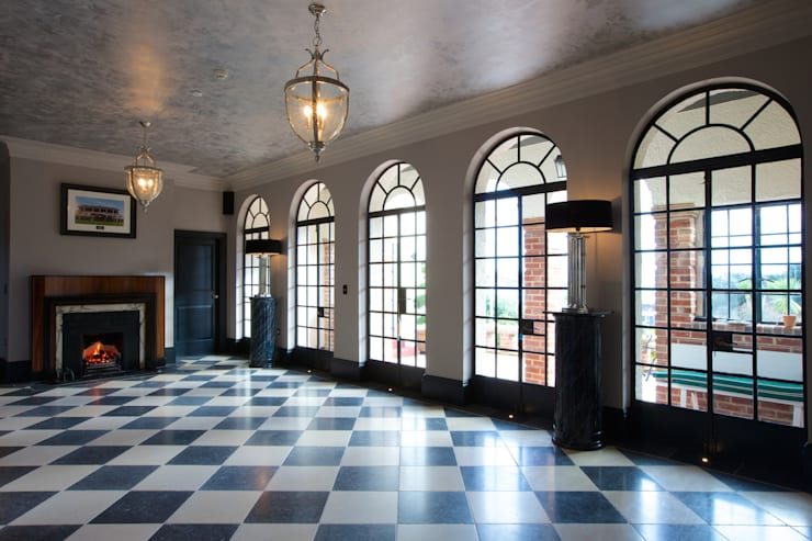 Salas de estar clássicas por Artisans of Devizes