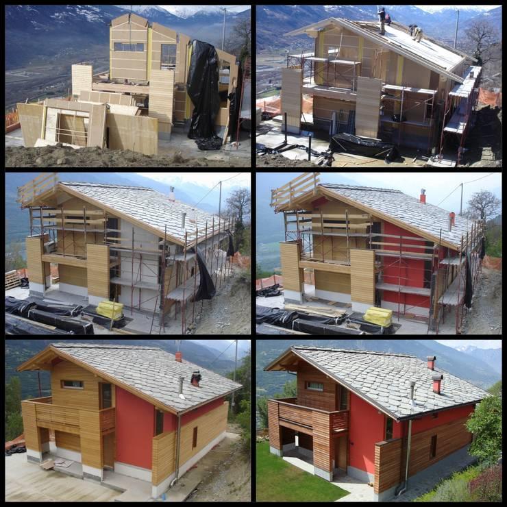 Projekty,   zaprojektowane przez Eddy Cretaz Architetttura