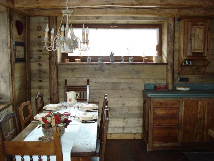 Dining room by Eddy Cretaz Architetttura