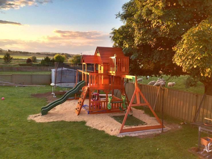 Jardim  por Climbing Frames UK