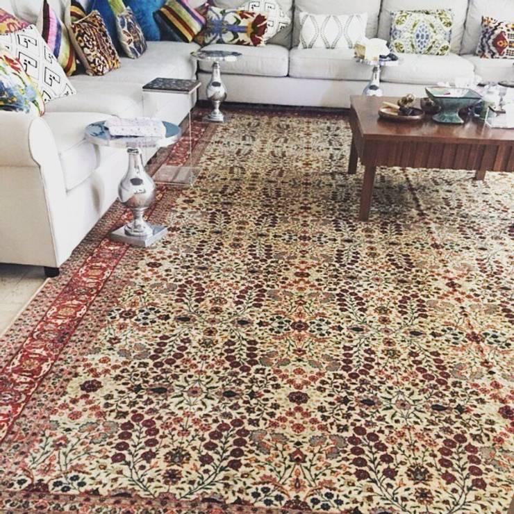 My Home Halı – Mansion in Kuwait:  tarz Oturma Odası