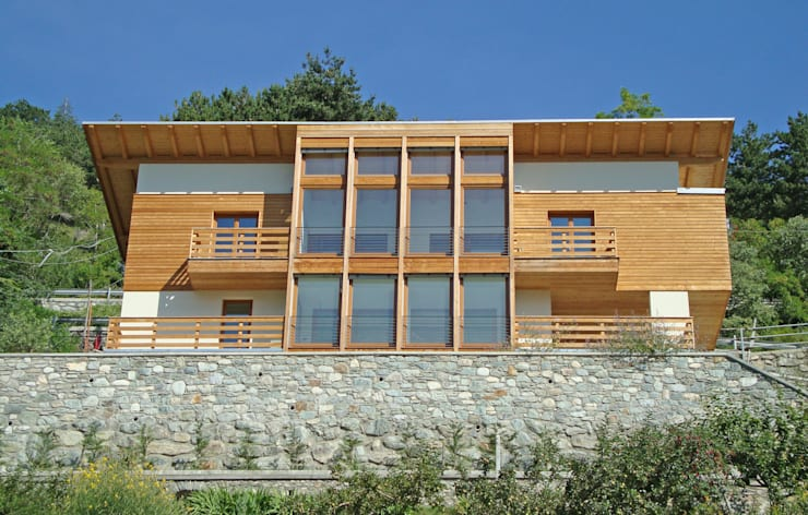 Ventanas de estilo  por Eddy Cretaz Architetttura