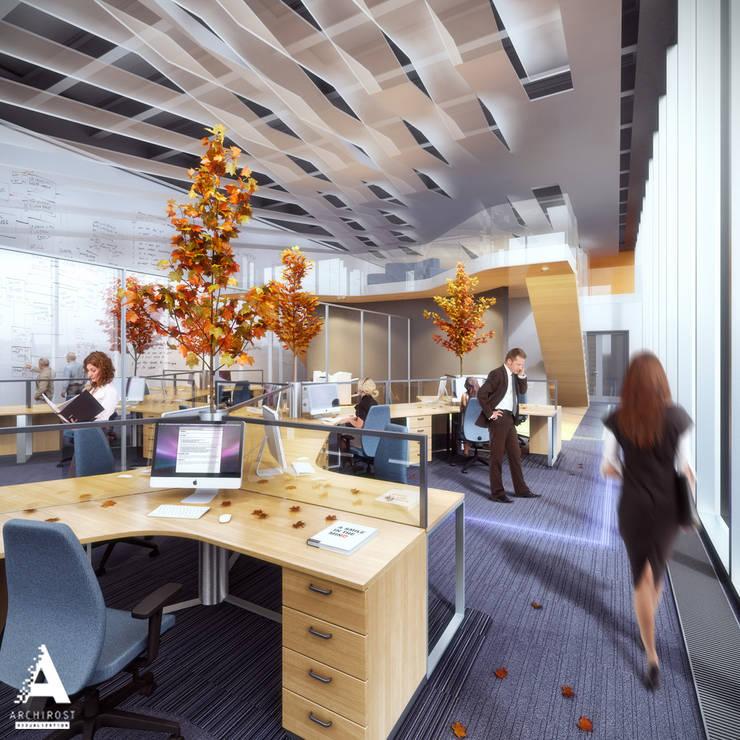 Визуализации офиса для крупной российской компании «Росатом».:  в . Автор – Аrchirost,