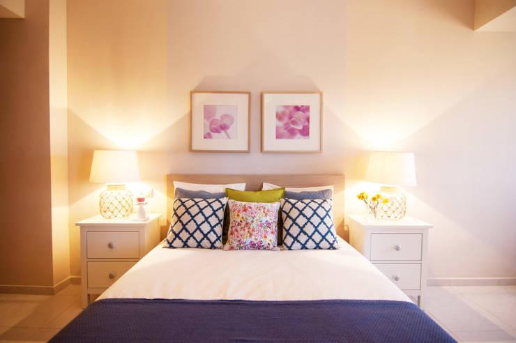 غرفة نوم تنفيذ Casas en Escena