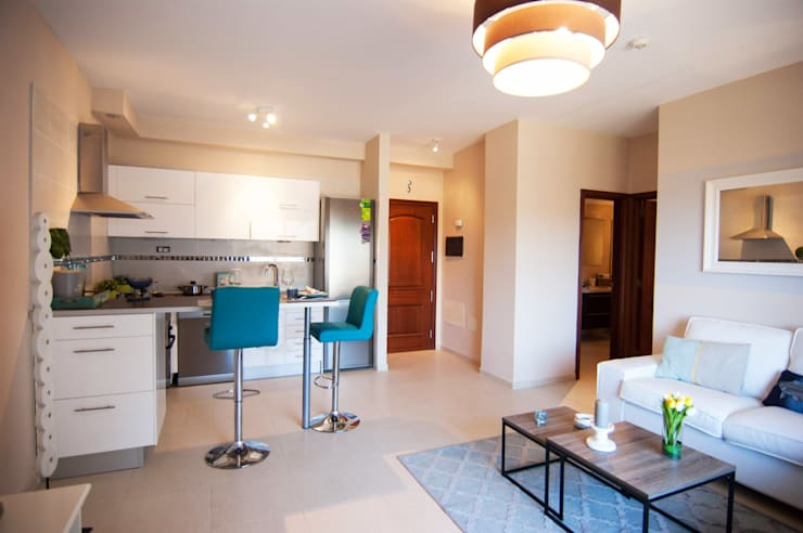 Cozinha  por Casas en Escena