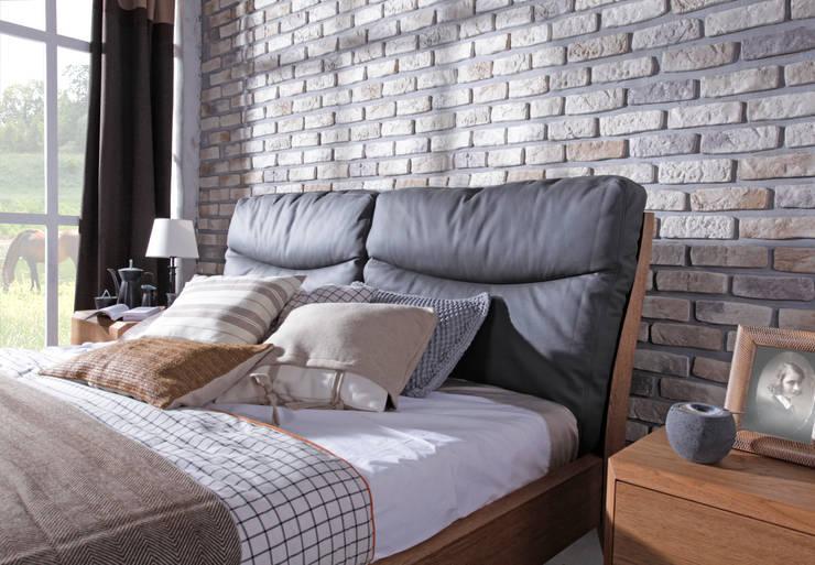 łóżko Dream Pure: styl , w kategorii Sypialnia zaprojektowany przez Swarzędz Home ,