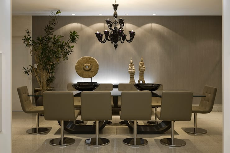 Residência AG Salas de jantar modernas por Gláucia Britto Moderno