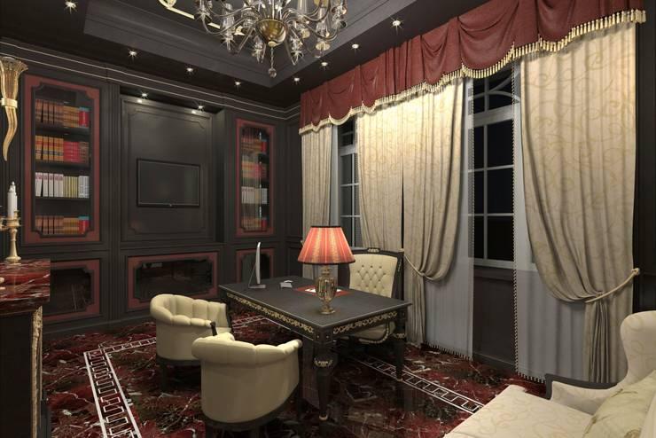 Villa Emirates: Studio in stile  di BenciDesign