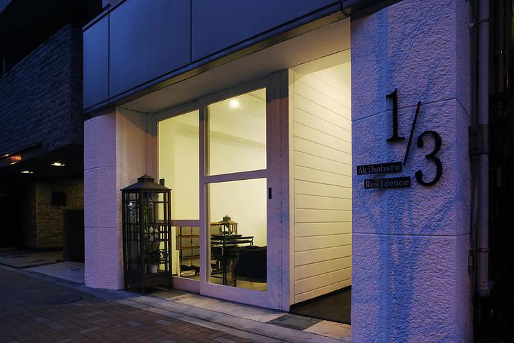 秋葉原リノベーション: 有限会社タクト設計事務所が手掛けた家です。,和風