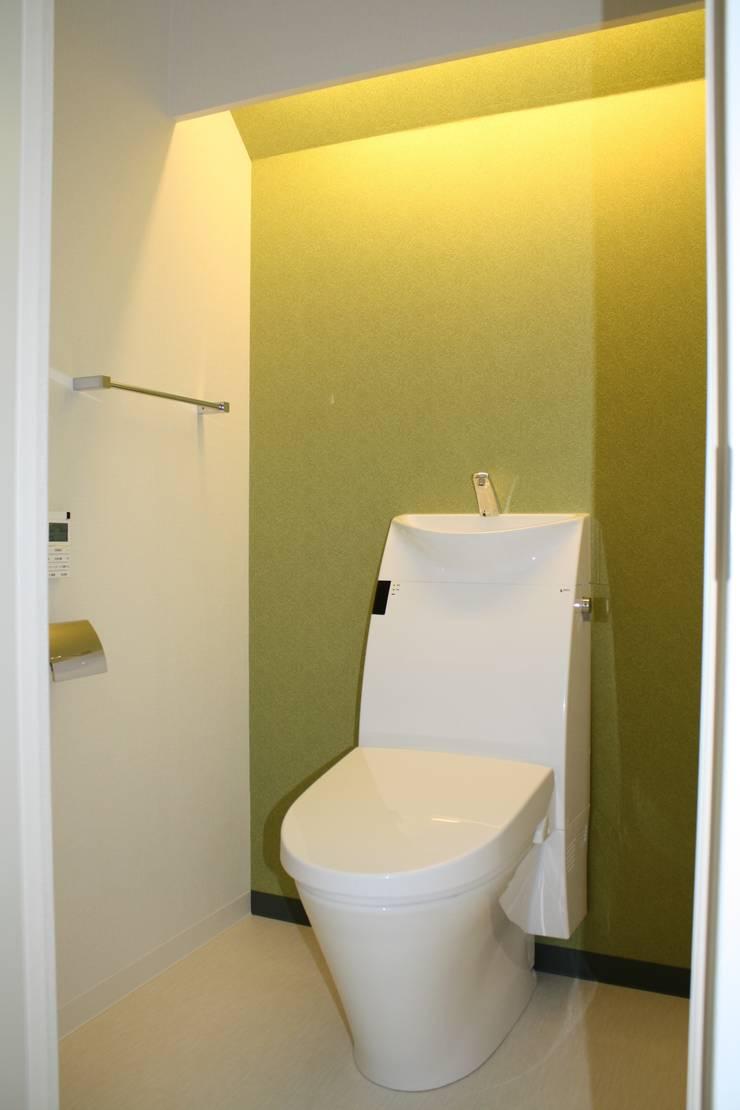 P and A: okadaが手掛けた浴室です。