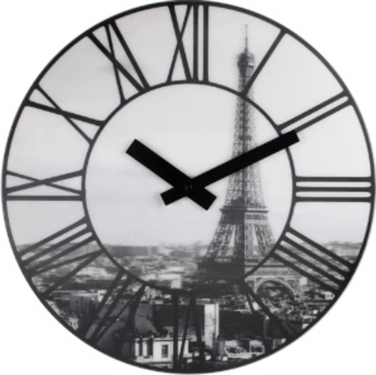 Настенные часы PARIS: Гостиная в . Автор – ИноВид