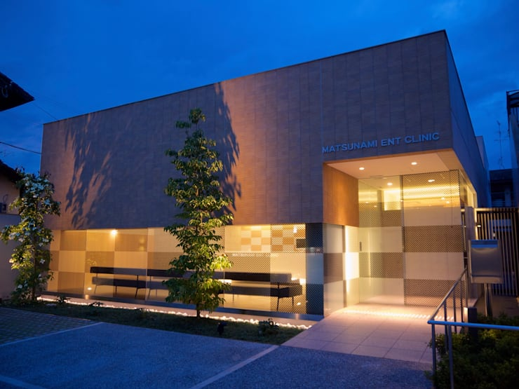 Maisons de style  par       古津真一 翔設計工房一級建築士事務所, Moderne