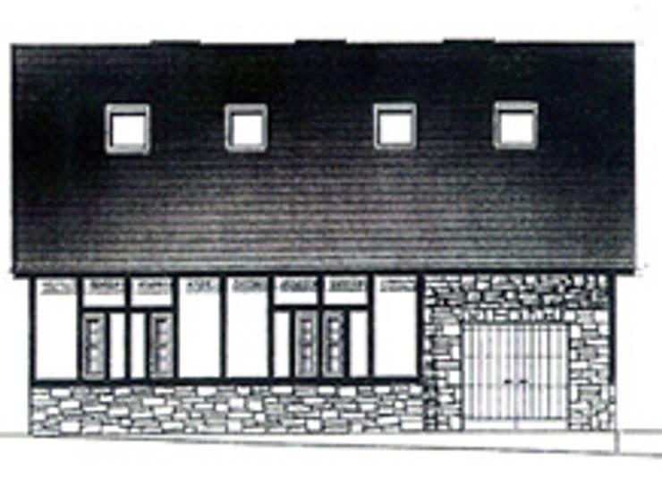 インナーガレージ: 榊原建築デザイン事務所が手掛けたです。