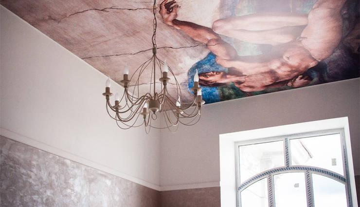 Интерьер в класическом стиле:  в . Автор – Мария Суслова, дизайн интерьеров Самара