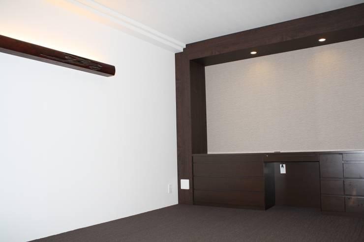 P and A: okadaが手掛けた寝室です。