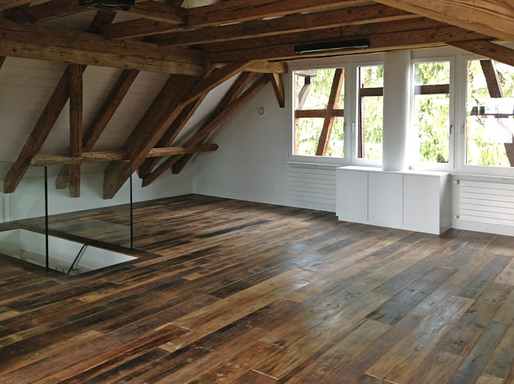 Umbau eines stattlichen Handwerkerhauses Jahrgang 1784:  Flur & Diele von Architekturbüro Gerhard Catrina AG