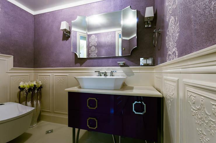 Интерьеры от Марии Абрамовой의  욕실