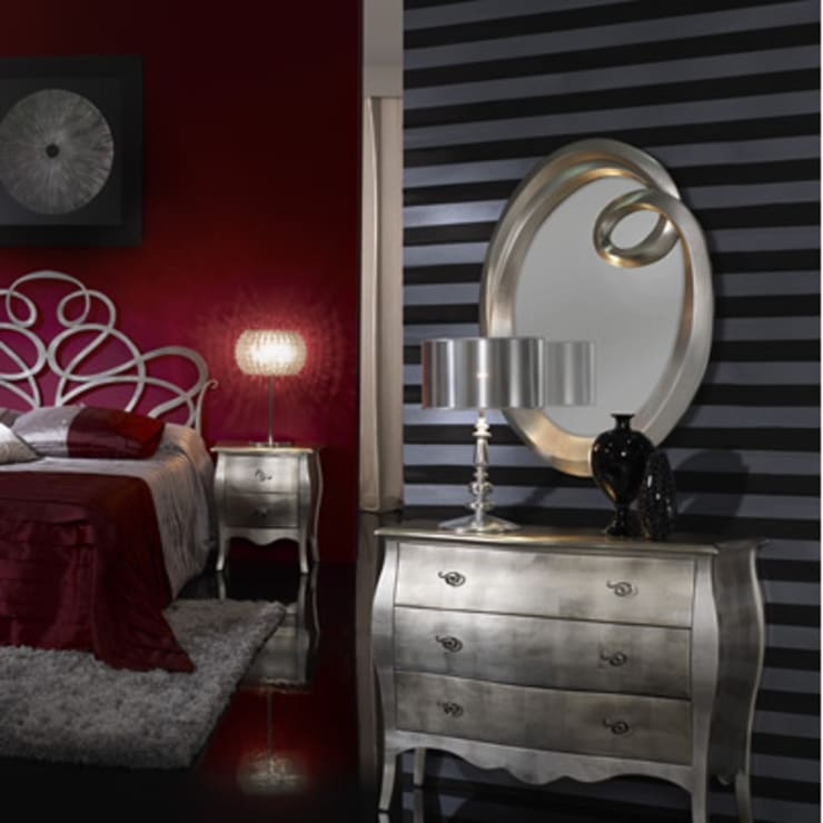 Dormitorios de estilo moderno por DECORSIA HOME,S.L.