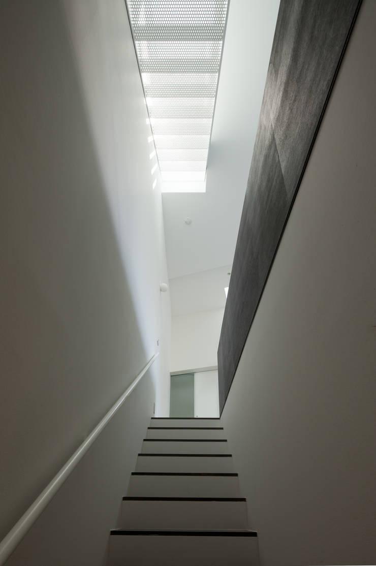 house KK: 杉浦事務所が手掛けた廊下 & 玄関です。